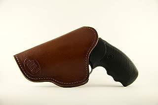 JM4 Tactical Magnetic Brown Right Hand J-Frame Holster- Great for snubnose Revolvers Like The Ruger LCR | Kimber k6 | Ruger SP101 & More