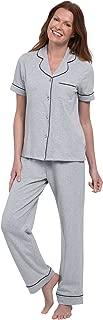 Pajama Set for Women - Pajamas for Women Cotton, Short Sleeve