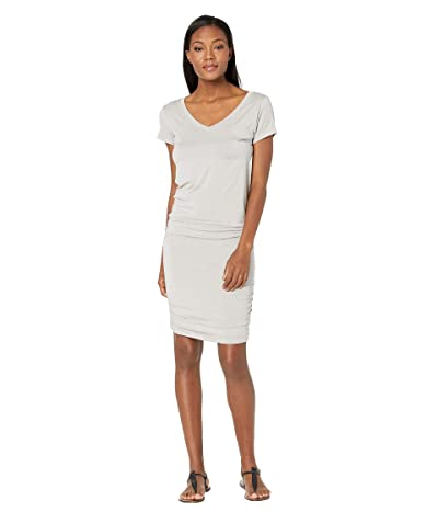 Prana Foundation Dress (Light Grey Heather) Women