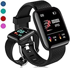 SHOPTOSHOP Smart watch Fitness Band Compatible With Android & Apple Phones