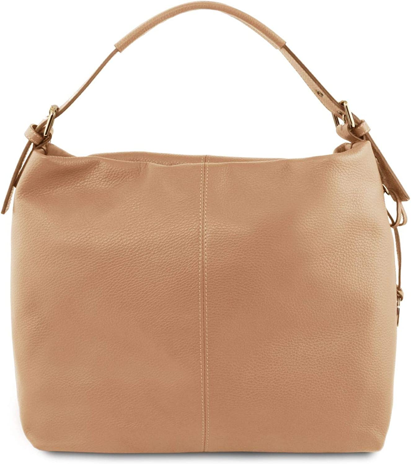 Tuscany Leather TLBag Soft Leather Bag  TL141719 (Champagne)