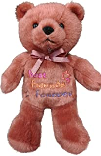 Anico Plush Toy, Occasional Stuffed Animal Bear, Best Friends Forever, Brown