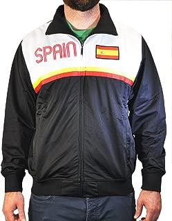 Men's Spain Spanish Pride Sport Track Jacket