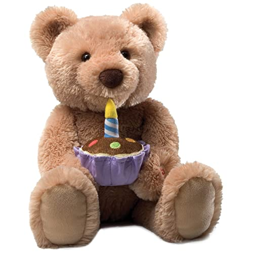 618081601e6 Gund Birthday Teddy Bear Animated Musical Stuffed Animal