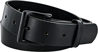 Hanks Everyday - No Break Thick Leather Belt - Mens Heavy Duty Belts- USA Made -100 Year Warranty
