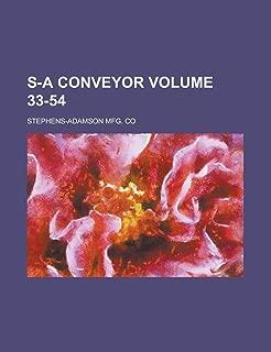 S-A Conveyor Volume 33-54