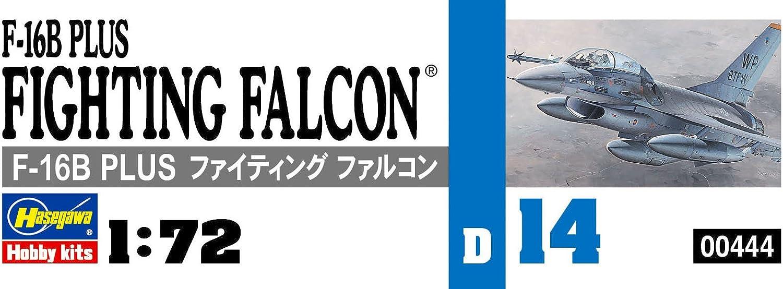Hasegawa HAD14 1:72 Scale F-16B Plus Fighting Falcon Model Kit : Arts, Crafts & Sewing