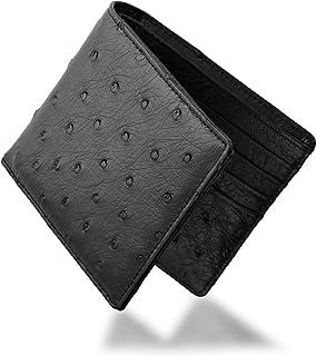 株式会社 三京商会(Sankyo Shokai) オーストリッチ 二つ折り メンズ 財布 両カード フルポイント 無双仕立て 折り財布