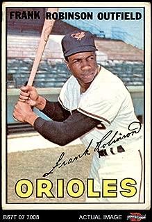 1967 Topps # 100 Frank Robinson Baltimore Orioles (Baseball Card) Dean's Cards 2 - GOOD Orioles