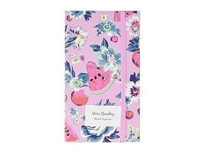 Vera Bradley Market Organizer (Pink Rosy Garden Picnic) Bags