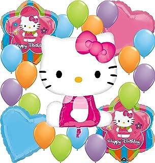 Hello Kitty Party Supplies Balloon Decoration Bundle for Birthday