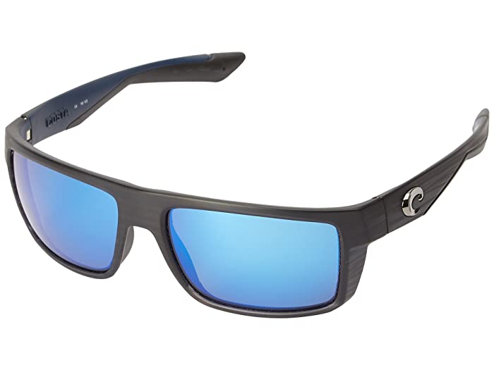 Costa  Motu (Black Teak Frame/Blue Mirror Glass W580) Fashion Sunglasses