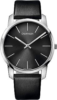 Men's Analogue Quartz Watch with Leather Strap – K2G21107
