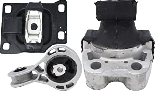 ENA Engine Motor and Trans Mount Set of 3 Compatible with Ford 2008 2009 2010 2011 Focus 2.0L Replacement for A5312 A5322 A2986