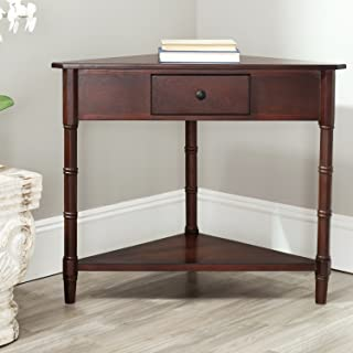 Safavieh American Homes Collection Gomez Dark Cherry Corner Table
