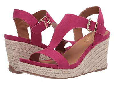 Kenneth Cole Reaction Card Wedge (Peony Pink) Women