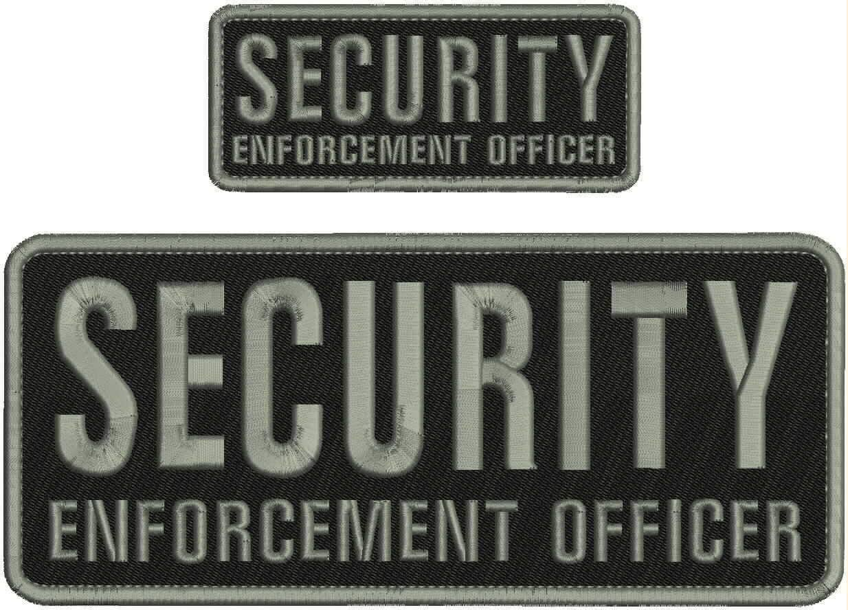 Embroidered Patch - Patches for Ranking TOP13 Women Enforcement Sale Special Price Security Man