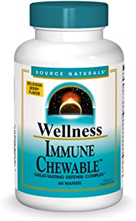 Source Naturals Wellness Immune Chewable, Great-Tasting Defense Complex