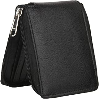 FOSSO Men's Black Chain Unisex Wallet