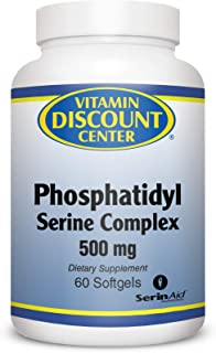 Vitamin Discount Center Phosphatidyl Serine Complex 500 mg, 60 Softgels