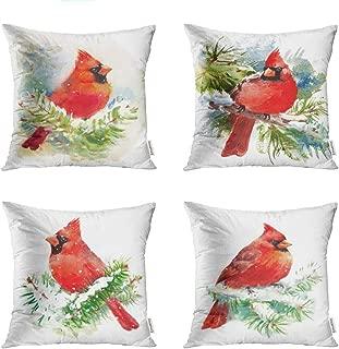Best christmas cardinal throw pillows Reviews