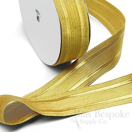 5 Yards of Kane 2 Wide Bullion Braid Military Trim Yellow Gold