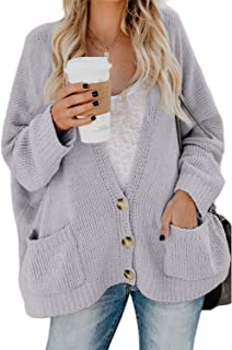 Chase Secret Womens Long Sleeve Open Front Cardigans Pullover Sweater Blouses S-XL