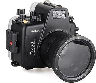 Sea Frogs 60m / 195ft Nikon D750用防水水中カメラハウジングケースダイビング