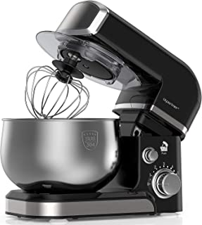 220V 150W Electric Cake Stand Mixer for Dough Multi Food Mixing Bowl Beater UK