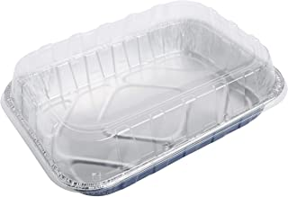 Reynolds Kitchens Bakeware Aluminum Pans with Lids, Blue, 13x9 Inch, 2 Count