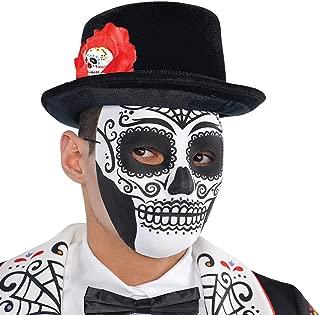 SUGAR Teschio Gatto Maschera Occhi ADULTO UNISEX Smiffys Costume maschere