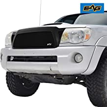 EAG Replacement Grille Black Stainless Steel Wire Mesh with ABS Shell Fit for 05-11 Toyota Tacoma