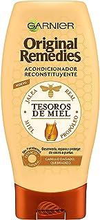 Garnier Original Remedies Acondicionador Reconstituyente Tesoros de Miel, para Pelo Seco o Dañado, Quebradizo - 250 ml