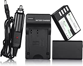Powerextra 2 Pack Replacement Pentax D-LI109 Li-ion Battery and Charger Compatible with Pentax K-R, K-30, K-50, K-500, K-S1, K-S2 Camera