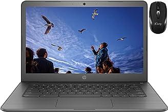 "2020 Flagship HP Chromebook 14 Laptop Computer 14""HD Touchscreen Display Intel Core Celeron N3350 Processors 4GB RAM 32GB..."