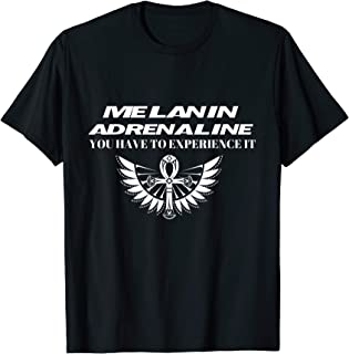 Melanin Adrenaline - African American Sports T-Shirt