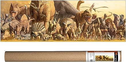 EuroGraphics Takino - Dinosaurs Poster, 36 x 12 inch