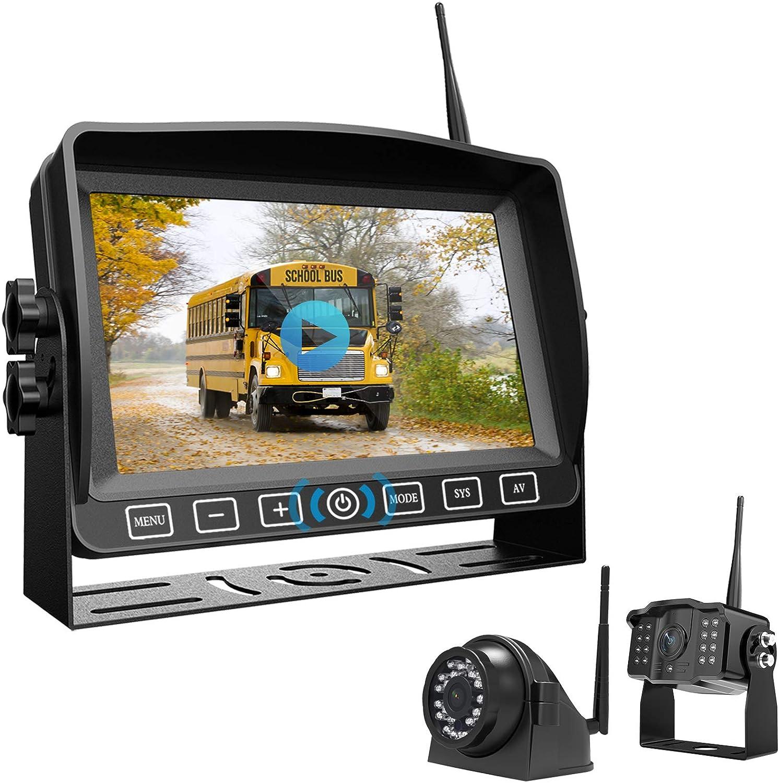 Xroose CM2 Wireless Dual Backup Camera