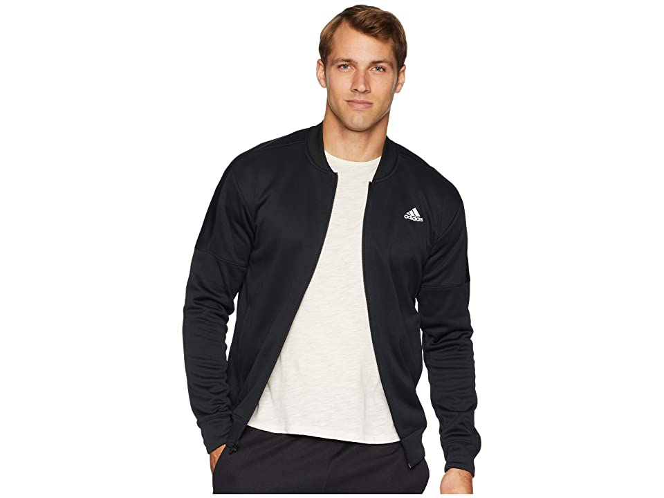 adidas Team Issue Fleece Bomber (Black) Men