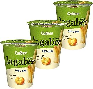 カルビー Jagabee うすしお味 40g ×3個