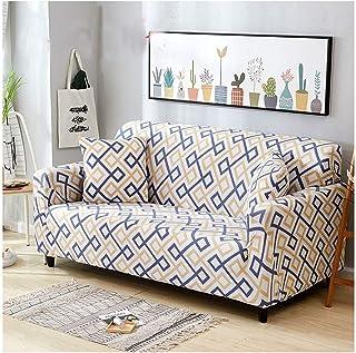comprar comparacion ZIXING Fashion Funda para sofá, Antideslizante, Estampado de Moderno y Simple, de 1/2/3/4 plazas, Protector para Mascotas ...