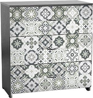 Stickers adhésifs Meuble | Sticker Autocollant Carrelage - Décoration pour Tables Armoires Commodes Étagères | 50 x 60 cm