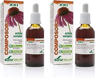 comprar comparacion Soria Natural - COMPOSOR 8 - ECHINA COMPLEX S. XXI - Echinacea Pack de 2