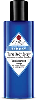 Jack Black - Turbo Body Spray, 3.4 fl oz - Performance Remedy, with Rosemary, Eucalyptus and Juniper Berry