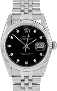 Rolex Datejust Swiss-Automatic Male Watch 16014 (Certified Pre-Owned)
