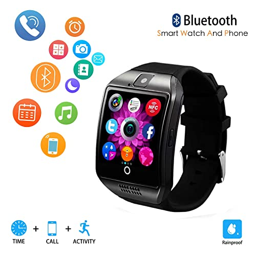 Smart Watch for Android Phones,Android Smartwatch Touchscreen with Camera,Smart Watches with Text