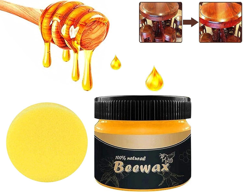 Wood Seasoning Beewax Beeswax Polish Max 49% OFF Furniture Oklahoma City Mall Wax Natural
