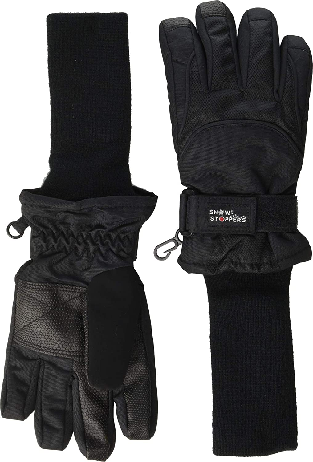Tundra Boots Snowstoppers Gloves Max 59% OFF Medium - Black Max 77% OFF