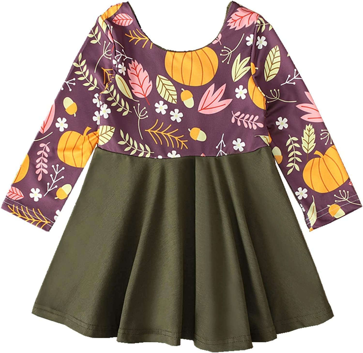 Merqwadd Toddler Baby Max Excellence 85% OFF Girl Holiday Summ Dress Spring Outfit Cute