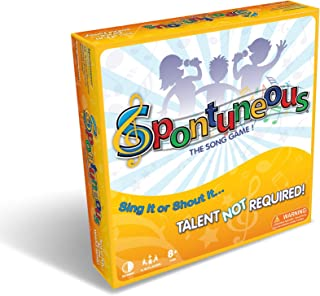 Spontuneous – The Song Game – Sing It or Shout It – Talent NOT Required..